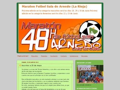 Maraton Futbol sala Arnedo