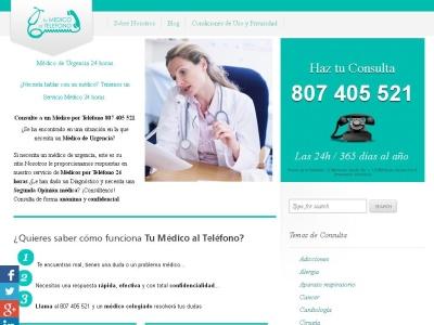 medico por telefono 24 horas