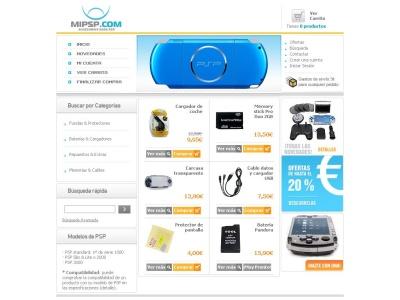 MiPSP: accesorios para PSP