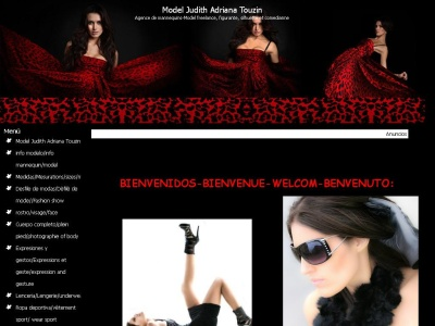 modelo michoacana Judith Adriana