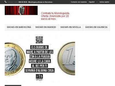 Monologos Barcelona