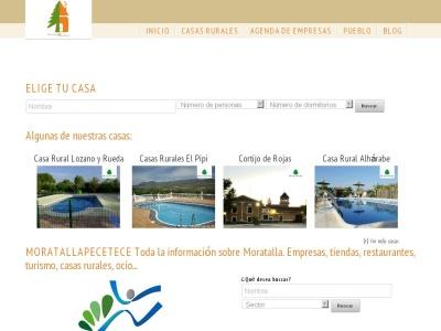 MoratallApetece Casas rurales en Moratalla - Murcia