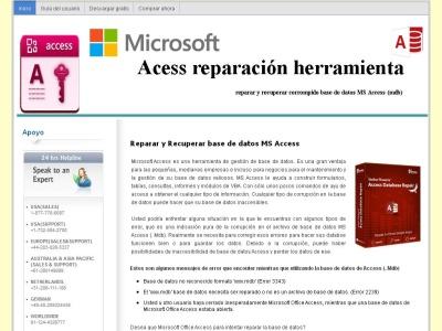 MS Access de Reparación y Recuperación