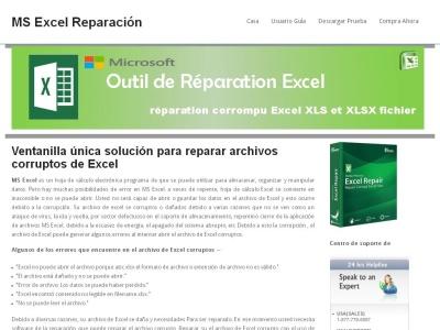 MS Excel Reparar y Recuperar
