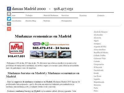 Mudanzas Madrid 2000