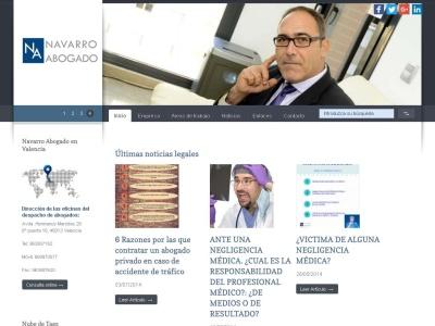 Navarro Abogado. Despacho de abogados en Valencia, Alicante y Castell�n