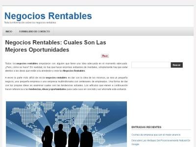 Negocios rentables: las mejores oportunidades