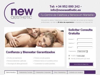 New Aesthetic, centro de estética y belleza en Marbella