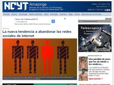 Noticias de la Ciencia y la Tecnología (Amazings)