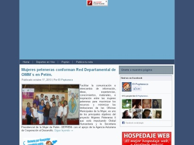 Noticias Virtuales de Poptún, Petén