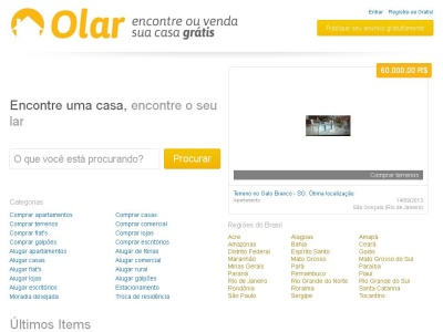 Olar - an�ncios classificados gratuitos do Brasil