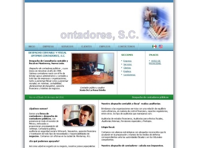 Optimus Contadores - Despacho contable y fiscal