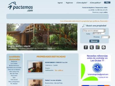 pactemos, portal de alquileres temporarios online
