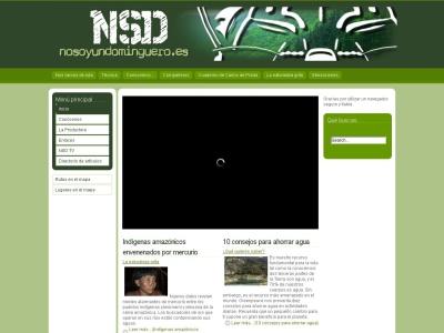 Pagina web sobre naturaleza y senderismo