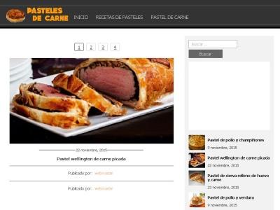 PastelesdeCarne.com: Preparaci�n y Recetas de Pastel Carne
