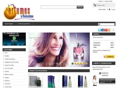 Perfumeria on line. Venta de perfumes y cosm�ticos