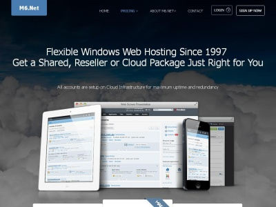 PHP hosting from M6.Net
