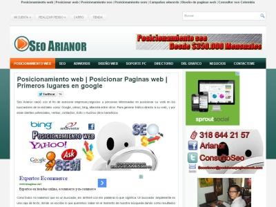 Posicionar paginas web en buscadores