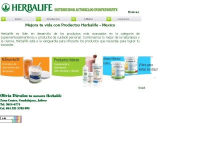 Productos y suplementos Herbalife