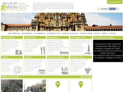 Puntos de inter�s turistico de Galicia