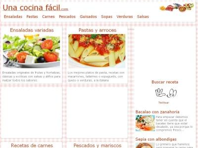 Recetas de cocina sencillas, rapidas y baratas