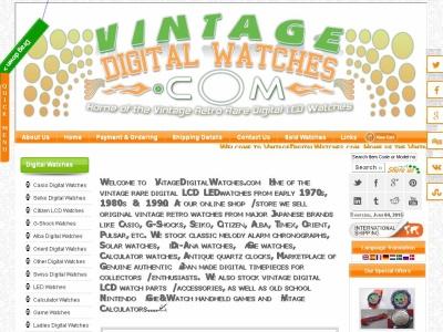 relojes digitales vintage