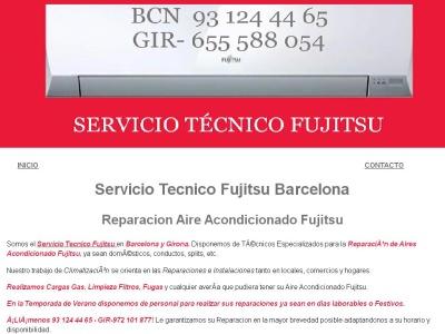 REPARACION AIRE ACONDICIONADO FUJITSU