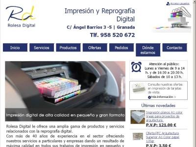 Rolesa Digital, impresi�n y reprograf�a digital