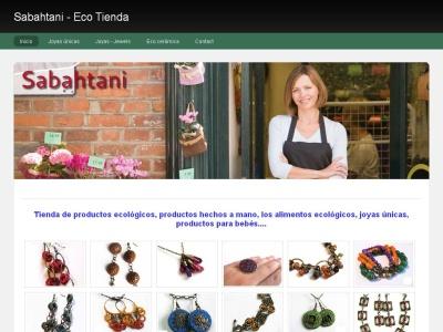 Sabahtani - Eco Tienda