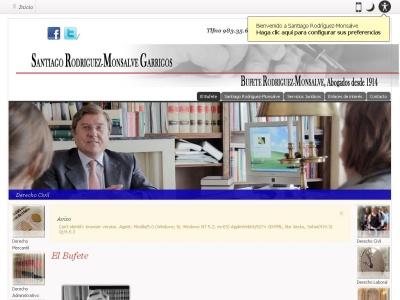 SANTIAGO RODRIGUEZ-MONSALVE GARRIGOS. ABOGADO. BUFETE RODRIGUEZ-MONSALVE