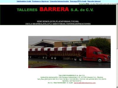 Semi Remolques Talleres Barrera