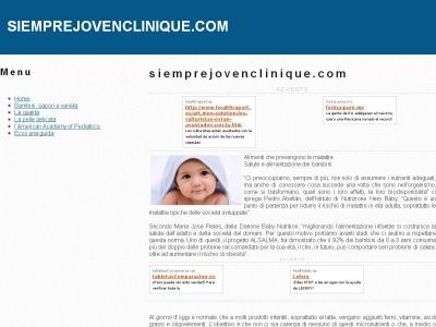 Siempre J�ven - Cl�nica M�dica y Spa