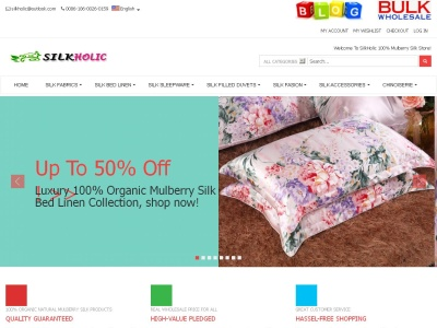 Silk Products Online Store