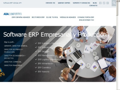 Software ERP y CRM para la gestión | ADA Computer