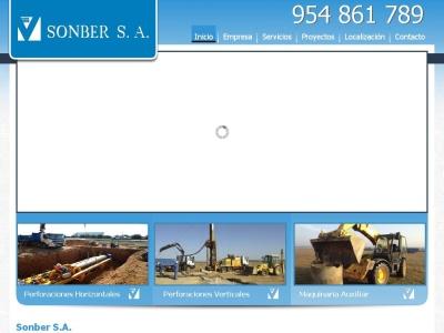 Sonber S.A., empresa de pozos.