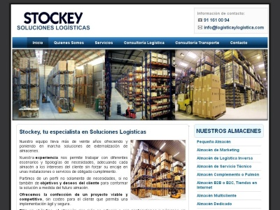 Stockey, soluciones log�sticas