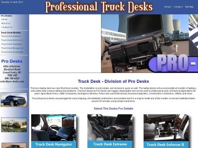 strong laptop truck desks