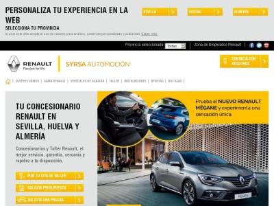 Syrsa concesionario Renault