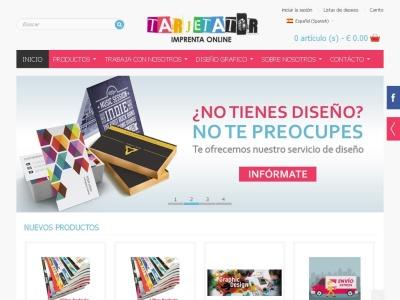 Tarjetator Imprenta Online  Al Mejor Precio