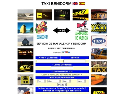 Taxi en Benidorm
