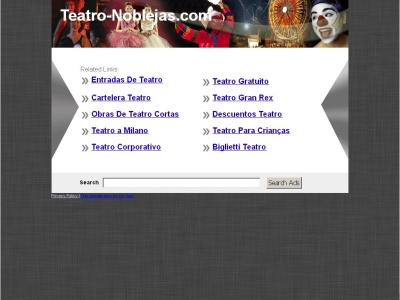Teatro de Noblejas