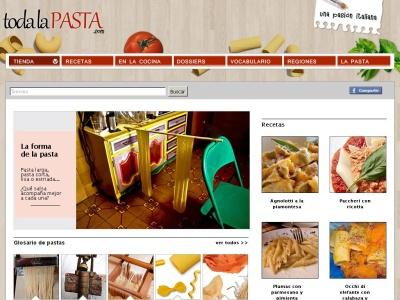 Toda la pasta | Una pasi�n italiana