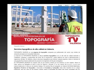 Topografia Valencia
