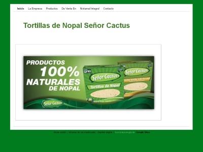 Tortillas de Nopal El Primo