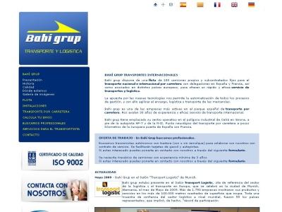 Transporte por carretera - Girona � Bah� Grup