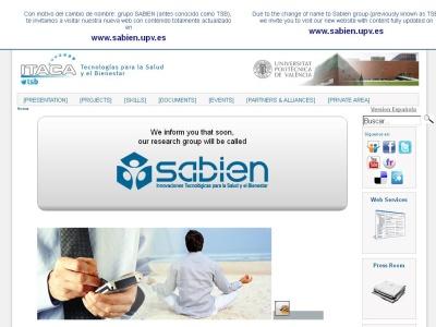 TSB - Grupo de Tecnologias para la Salud y el Bien