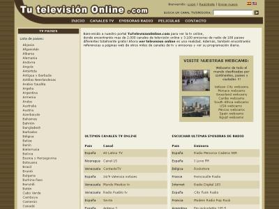 tu television online
