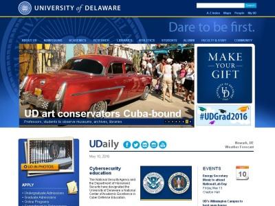 Universidad de Delaware en los Estados Unidos