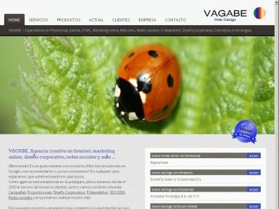 VaGaBe - Dise?o de paginas web 100% comerciales