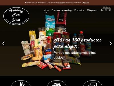 Vending Madrid: máquinas expendedoras de café y botes